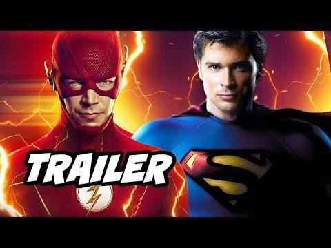 The Flash Season 6 Trailer - Smallville Superman Crisis On Infinite Earths Breakdown