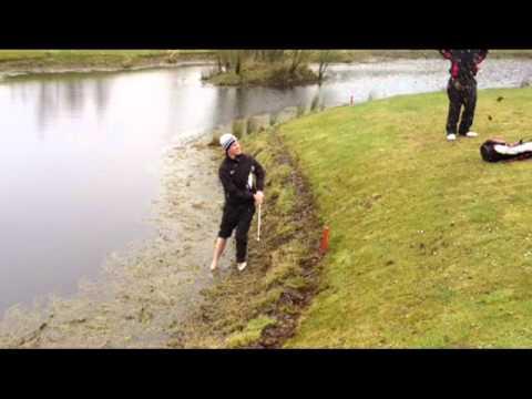 """John """"Van de Velde"""" Moran – Darren Clarke Golf School Student"""