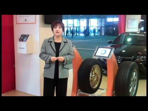 Yokohama at the 2011 LA Auto Show presents Orange Oil Technology