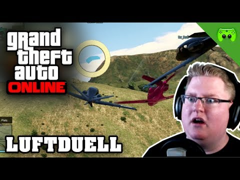 GTA ONLINE # 54 - Luftduell «» Let's Play Grand Theft Auto Online | HD
