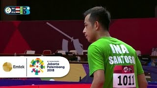 Download Video Highlight Table Tennis Putra - Indonesia vs Yemen   Gelora Asian Games 2018 MP3 3GP MP4
