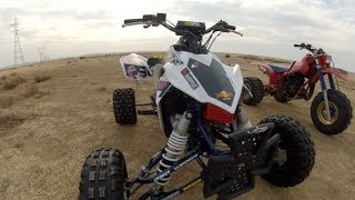 10. LTR 450 First Time Riding A 4 Stroke