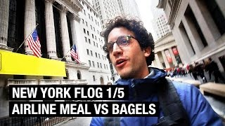 23 HOURS NO SLEEP ! NYC FOOD VLOG 1/5 by Alex French Guy Cooking
