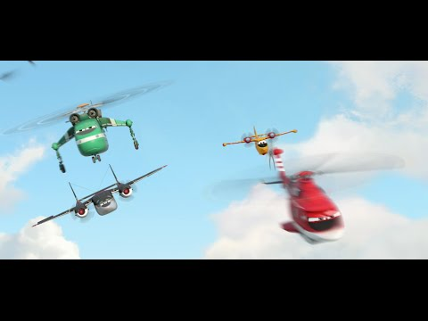 Planes: Fire & Rescue (TV Spot 'Now Playing')