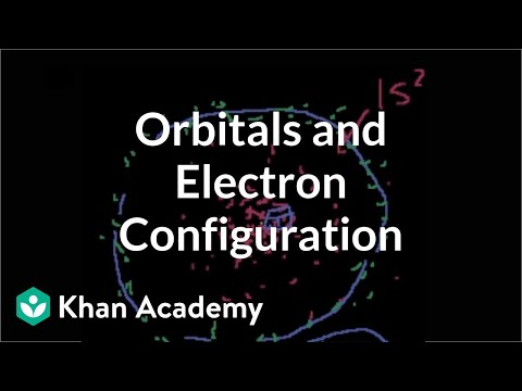 More on orbitals and electron configuration (video) | Khan Academy