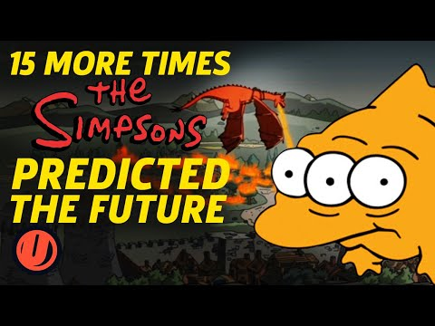 15 MORE Times The Simpsons Predicted The Future