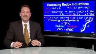 Balancing Redox Equation