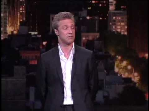 Nick Griffin On The Late Show with David Letterman July 2008