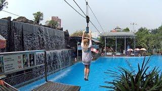 Rope Swing Ride at Dam Sen Water Park