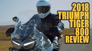 7. 2018 Triumph Tiger 800 XRt and XCa Review