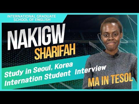 IGSE Student Interview: Nakigwa Sharifah (TESOL, 2019)