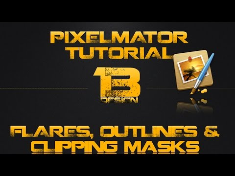 pixelmator 2 tutorial - In this video I show you how to create clippings masks using images in Pixelmator. I also show you how to create a text outline. ** In all of my tutorials I ...