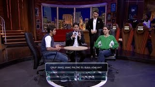 Video Seru!! Chemistry El & Dul Diadu Di Tonight Show MP3, 3GP, MP4, WEBM, AVI, FLV Desember 2018