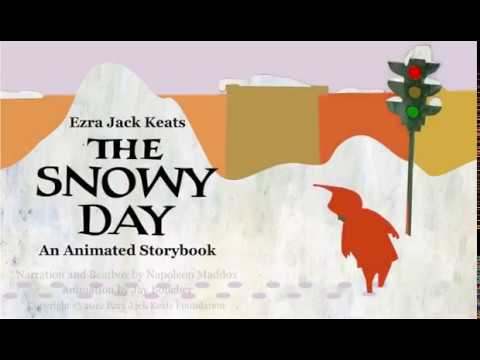 The Snowy Day Read-aloud, an animated story