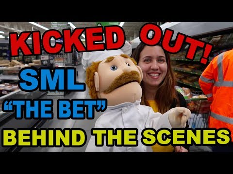 """""""THE BET"""" BEHIND THE SCENES (KICKED OUT OF WALMART!!!)"""
