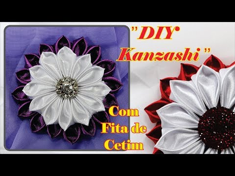 Flor kanzashi