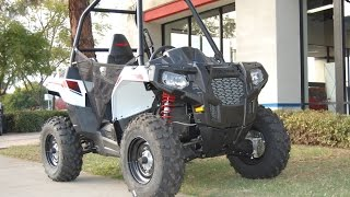 4. 2015 Polaris Ace 325 White Lightning