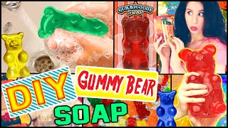 DIY Gummy Bear Soap! | Possible Room Decor! | Make Soap Into Gummy Bears! - YouTube