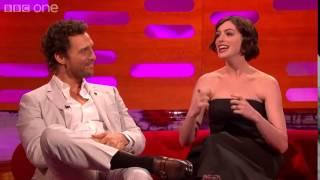 Video Alla Hathaway piace McConaughey - The Graham Norton Show [SUB ITA] MP3, 3GP, MP4, WEBM, AVI, FLV Juni 2017