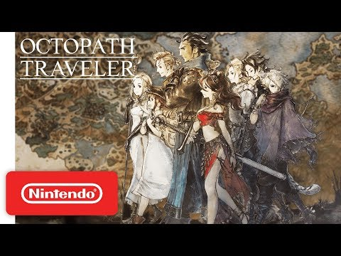 Octopath Traveler - Overview Launch Trailer - Nintendo Switch