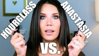 BATTLE OF THE FOUNDATIONS   Anastasia vs.  Hourglass by Glam Life Guru
