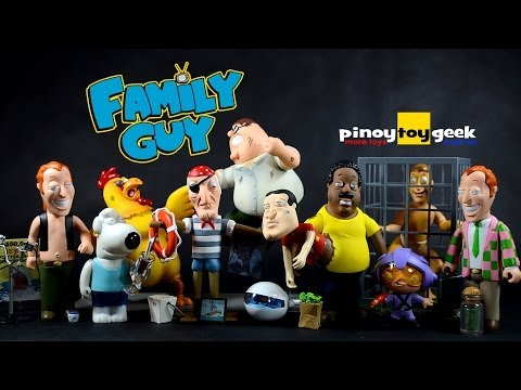 Family Guy Peter Griffin Giant Chicken Stewie Brian Quagmire Cleveland Collection