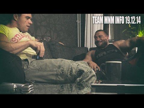 Info - Väsynyt Mike ja iloinen Mika. Team MnM is back.