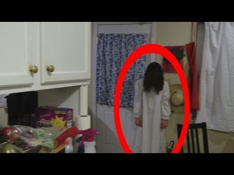 Real Ghost Girl caught on Video Tape 8 (The Haunting)