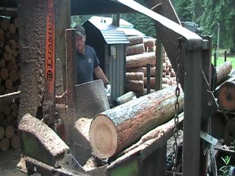 Johns Fire Wood Processor