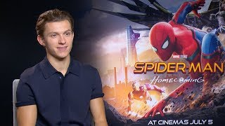 Tom Holland and Zendaya talk to Digital Spy about their latest incarnation of the web-slinger, and explain how this version of Spider-Man will relate to young people in a way that other superheroes don't.Follow Digital Spy on Twitter at http://twitter.com/digitalspyLike Digital Spy on Facebook at http://fb.com/digitalspyuk