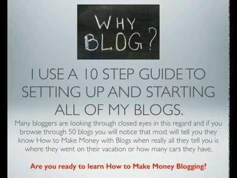 10 Steps To Make Money Blogging