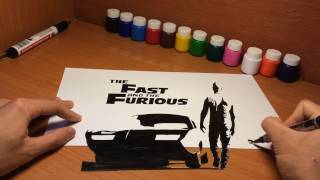 Nonton Fast and Furious 8 ( 3D Drawing) Film Subtitle Indonesia Streaming Movie Download