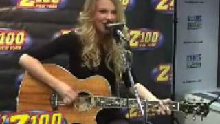 Taylor Swift - Hey Stephen Acoustic Live (at Z100)