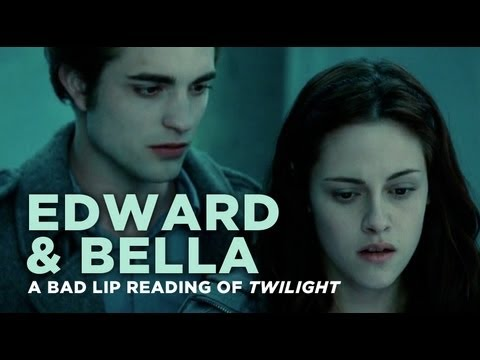 Edward - Like on Facebook! http://www.facebook.com/badlipreading Follow on Twitter! http://twitter.com/badlipreading.