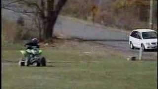 10. Kawasaki KFX400 Race