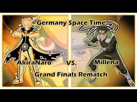 Naruto Online 4.0 Germany Space Time Grand Final Season 20 Rematch AkiraNaro vs Millena