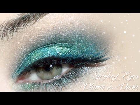 ♥ Make Up de Fêtes inspiration Plume de Paon ♥