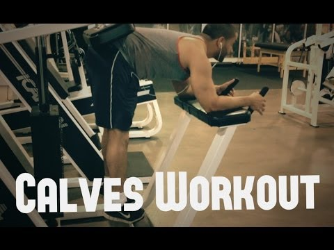 Arnold Schwarzenegger Calves Workout