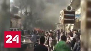 В Аазазе взлетел на воздух автомобиль: 25 погибших, десятки раненых