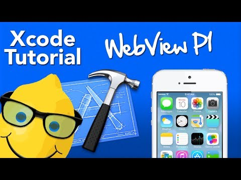 XCode 5 Tutorial WebView Part 1 -…