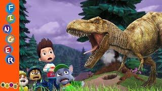 Paw Patrol Fear With Dinosaurs T Rex#Dinosaur Movie Series Part 3#KidsW
