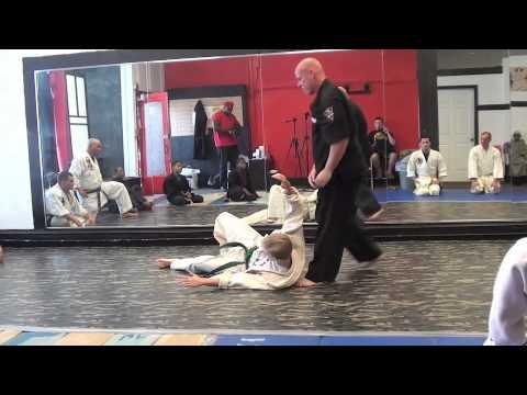 Professor Curry Sanuces Ryu Jujutsu Warm Up Fun