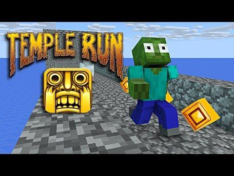 Monster School : TEMPLE RUN CHALLENGE - Minecraft animation - Thời lượng: 12:00.