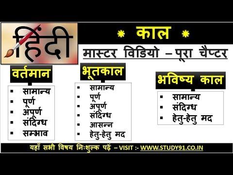 12.kaal in Hindi / काल से सम्बंधित तथ्य / study91 Hindi / full hindi video class / Nitin sir Hindi