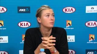 Tennis Highlights, Video - [HD]Maria Sharapova press conference (Final) - Australian Open 2015