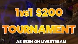 This is the Grand Final from Sharbel's $200 Tournament where we have RaGe vs SiZe. It was Best of 11 (so first to win 6 games),...