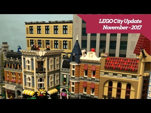 "Download Videos ""Lego City Layout Tour Custom Buildings Aug 2017 ..."