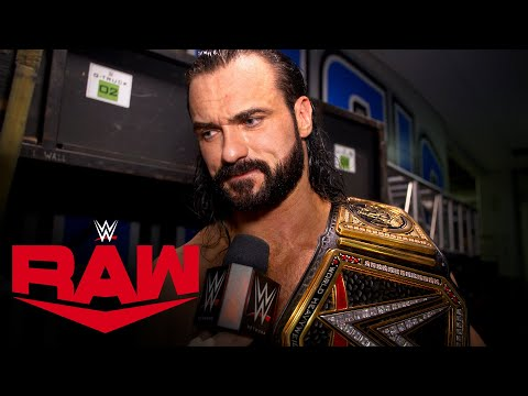 Drew McIntyre celebrates his second WWE Championship victory: WWE Network Exclusive, Nov. 16, 2020