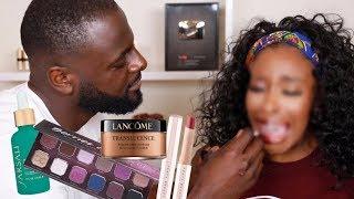 My Boyfriend Does My Makeup LMAOOO I'm...  Jackie Aina by Jackie Aina