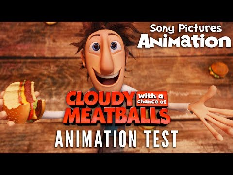 Cloudy With A Chance Of Meatballs - Early Development Reel
